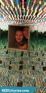 Infinity Mirrored Room - Love Forever