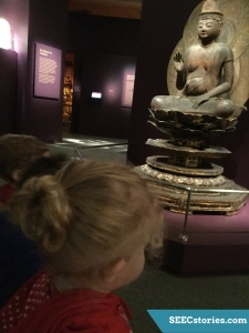 Looking at Buddha