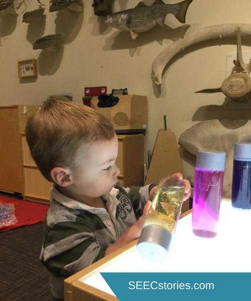 SEEC Baby Shower Gifts Sensory Bottles