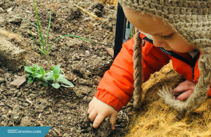 mud, gardening, touching dirt,